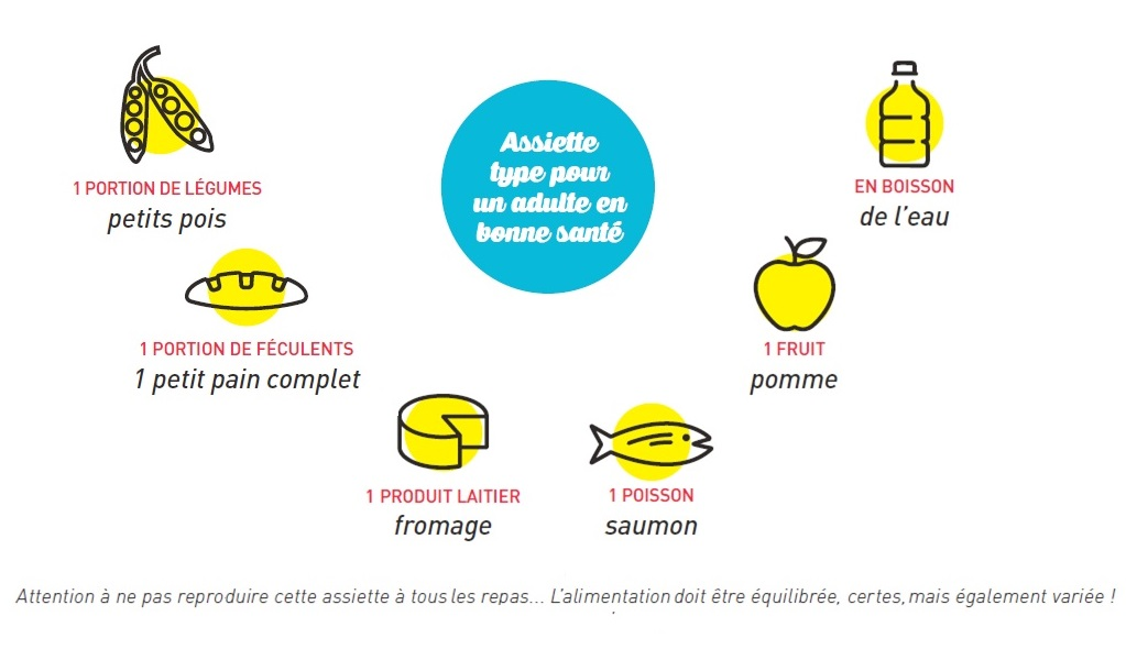 Vocation32-Equilibre alimentaire-assiette type